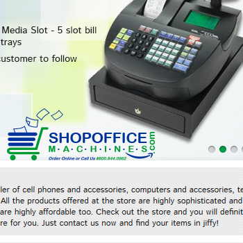 Shop Office Machines